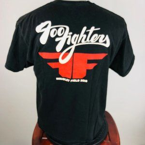 Hanes Shirts - Foo Fighters 2018 Wrigley Field Chicago Tour XL T